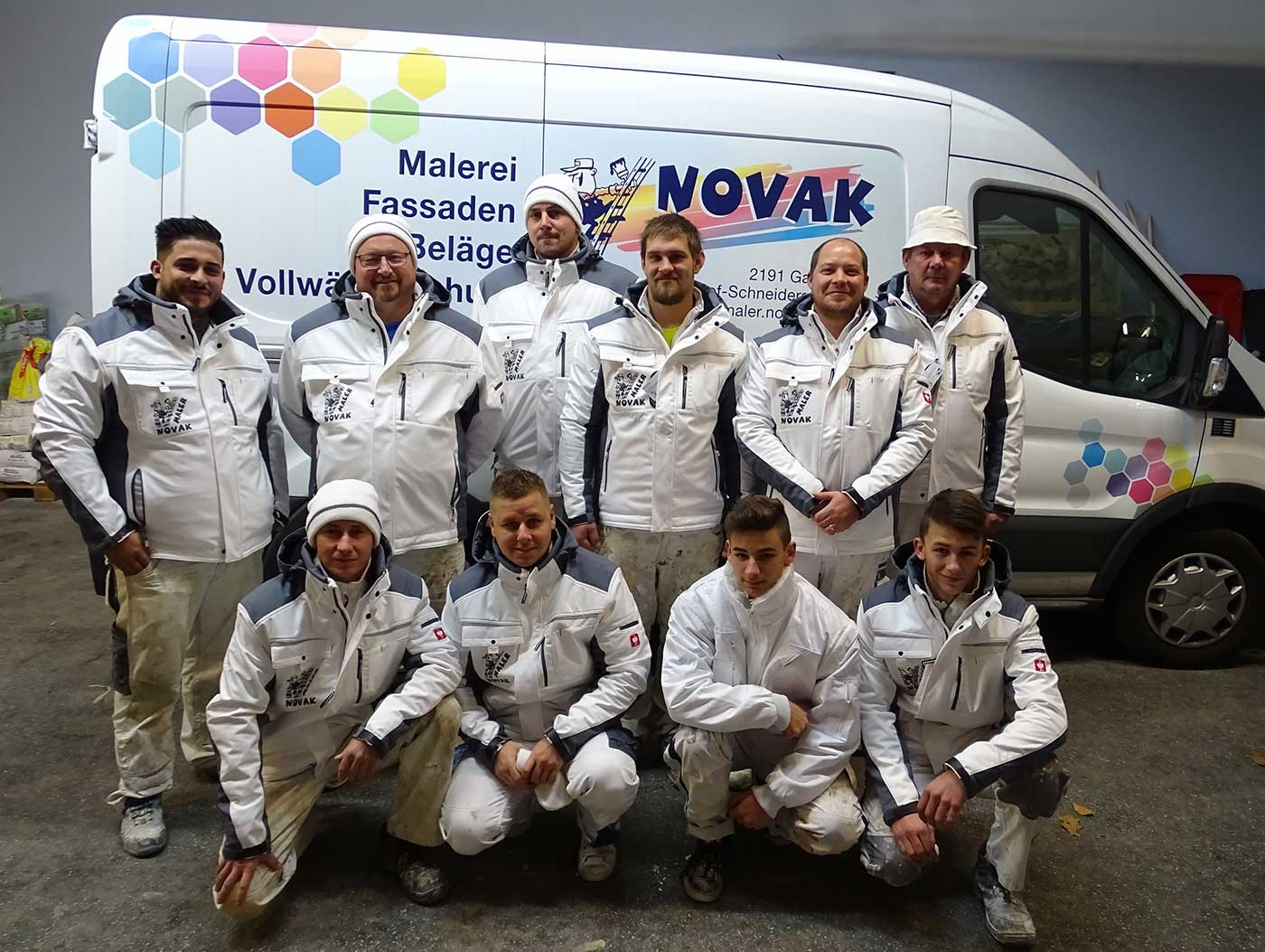 Malerbetrieb Novak Wien